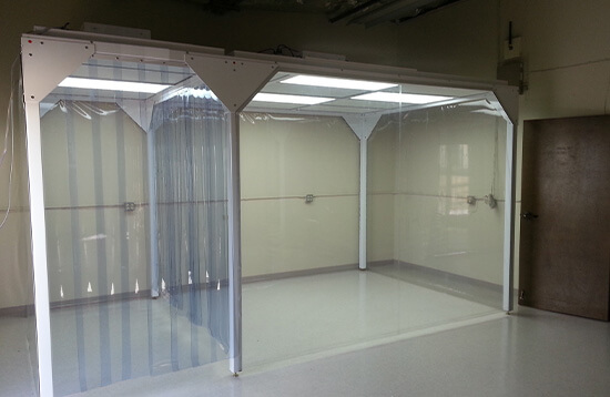 Medical Device Implant Manufacturing Softwall Cleanroom