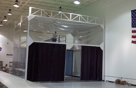 Aerospace Class 10,000 Softwall Cleanroom