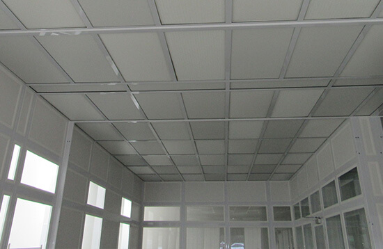 Semiconductor UV Lithography Hardwall Cleanroom